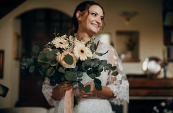 Un bouquet da sposa per ogni stagione: ecco le combinazioni possibili