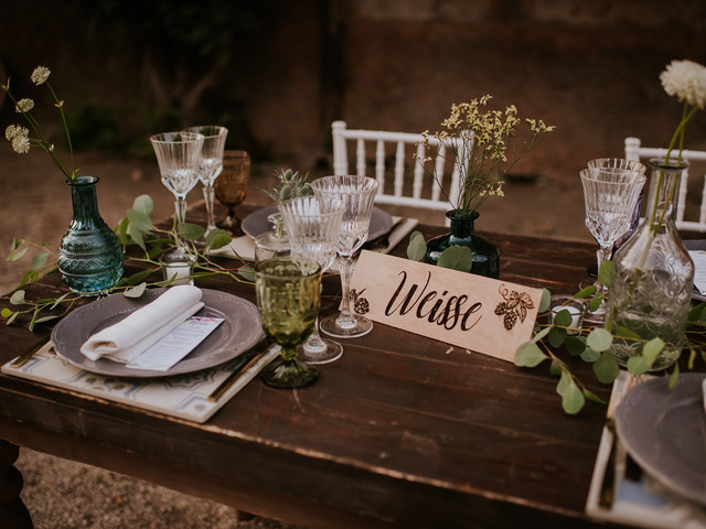 10 originali idee per i nomi dei tavoli del matrimonio