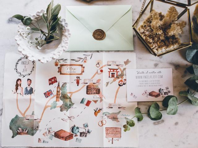 Partecipazioni di nozze a tema: 7 idee tutte da copiare