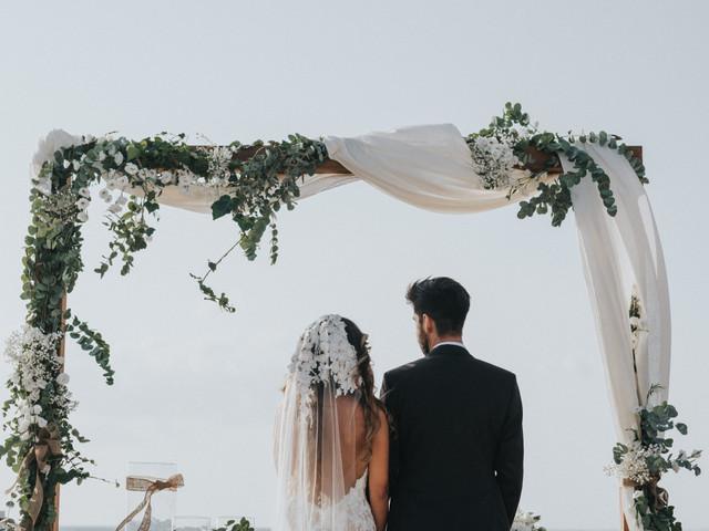 7 modi d'impatto per decorare l'altare delle nozze civili