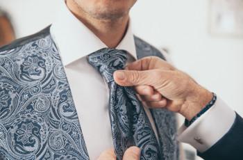 Come scegliere la cravatta per il matrimonio?