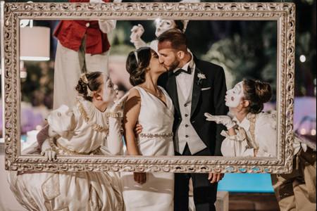 Intrattenimento di nozze: inserite le cornici nel vostro photo booth!