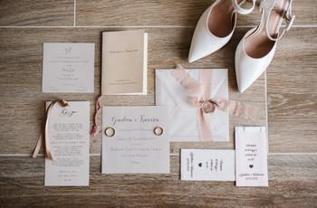 Partecipazioni matrimonio eleganti: 30 ispirazioni per il vostro grande giorno