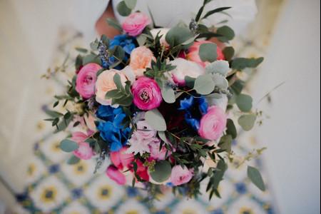 50 coloratissimi bouquet per un matrimonio in estate