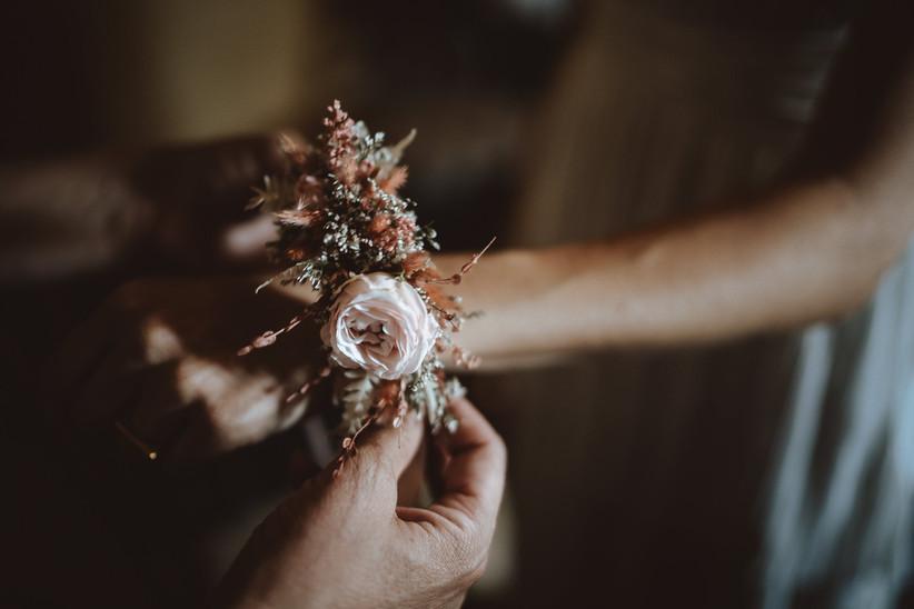corsage di fiori