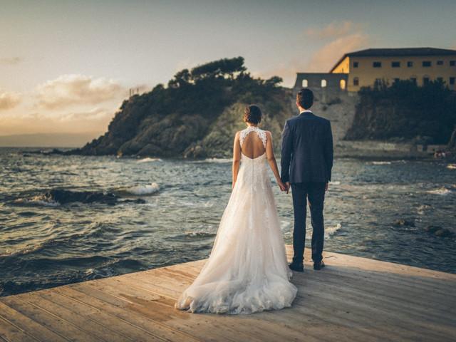 8 scenari perfetti per un reportage di nozze sulla spiaggia