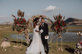9 idee per usare le decorazioni hula hoop al matrimonio
