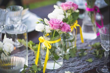 Nozze in rosa, giallo e bianco: l'arte di abbinare i colori