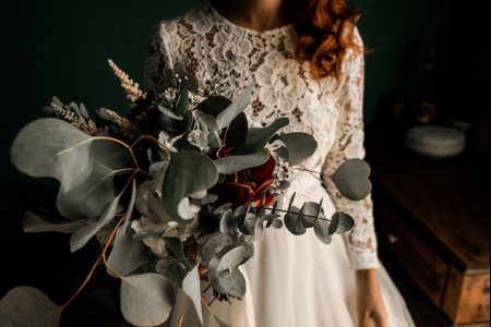 Bouquet da sposa con foliage: la tendenza più green dell'anno!