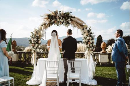 Pampas al matrimonio: un dettaglio di stile per la decorazione delle vostre nozze