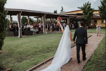Un'entrata degli sposi da ricordare: 5 idee originali per l'arrivo in location