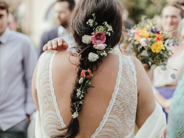 Acconciatura da sposa con trecce: un romanticismo dal twist bucolico