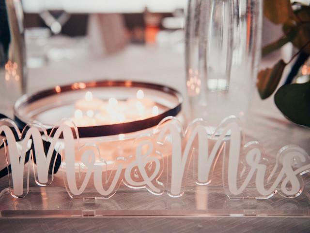 Tendenze matrimoni 2020: le decorazioni in plexiglass per le tue nozze!