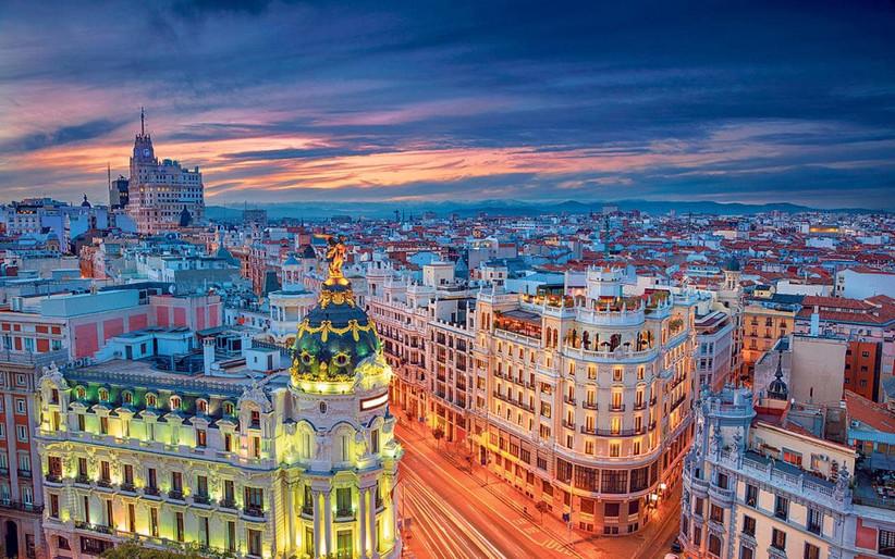 Madrid vista dall'alto