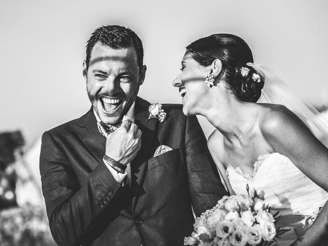 Nozze in bianco e nero: il vostro reportage dall'animo romantic chic