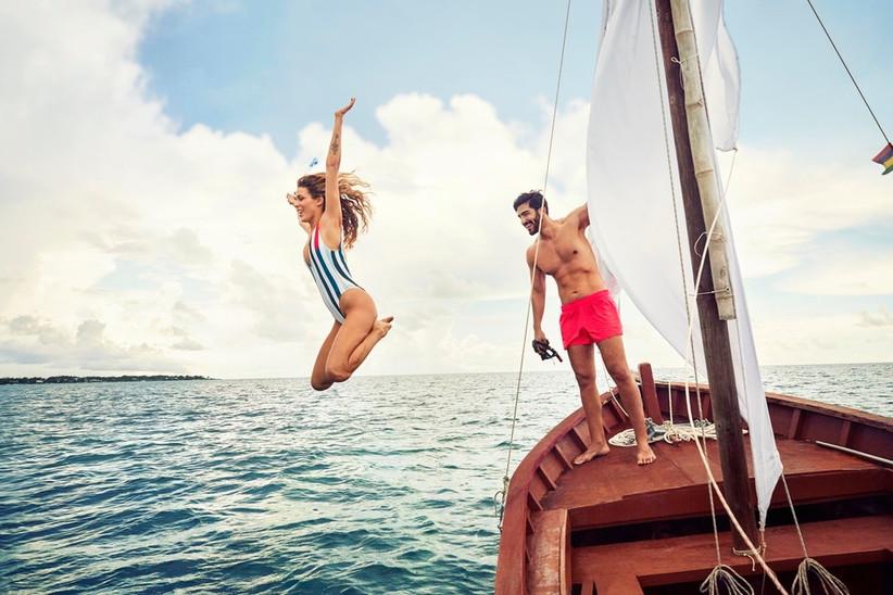 viaggio di nozze in barca a vela