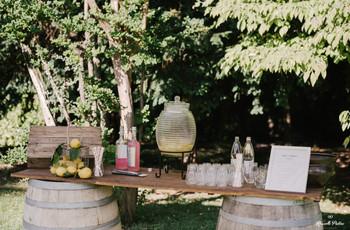Stand di limonate per un matrimonio estivo: l'angolo più fresco che c'è!