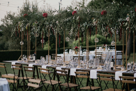 Decorazioni matrimonio all'aperto: 50 idee da non perdere!
