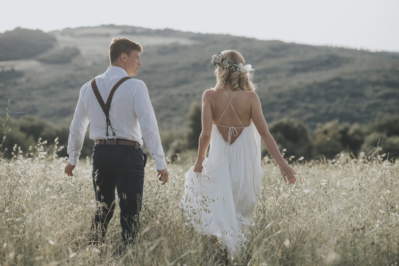 Matrimonio Bohemien Uomo : Come organizzare un matrimonio in stile boho chic