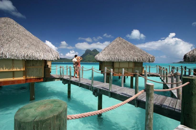 resort in Polinesia