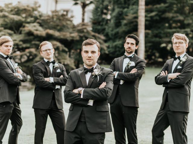 Le 5 foto che lo sposo deve assolutamente fare con gli amici