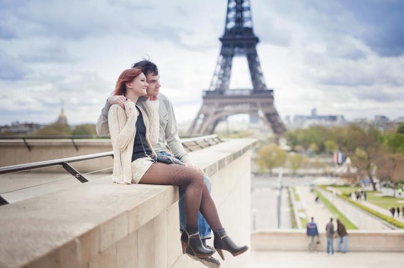 Fidanzati a Parigi