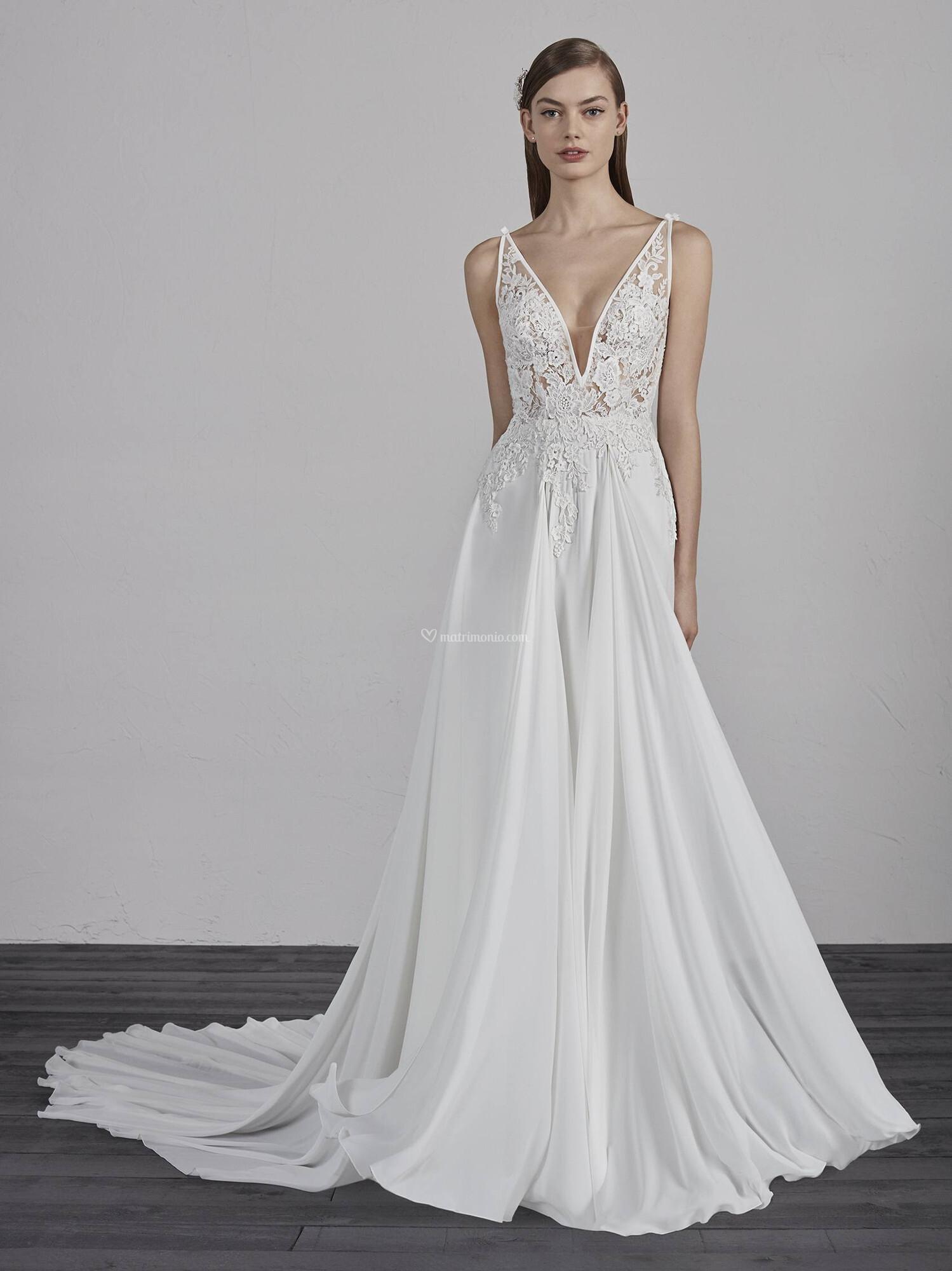38babace7313 Abiti da Sposa di Pronovias - ESCALA - Matrimonio.com