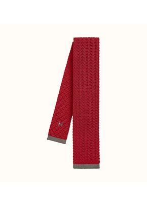 tricot de soie bordure, Hermès