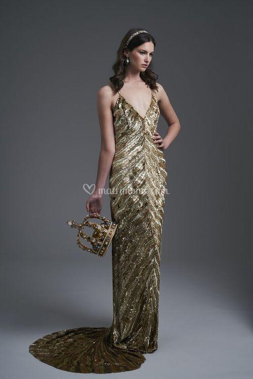 Ritz in Renaissance gold, Eliza Jane Howell