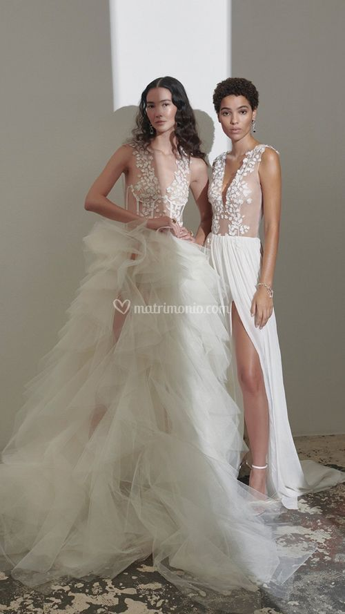 BLOSSOM BLISS COUTURE DRESS, Kaviar Gauche