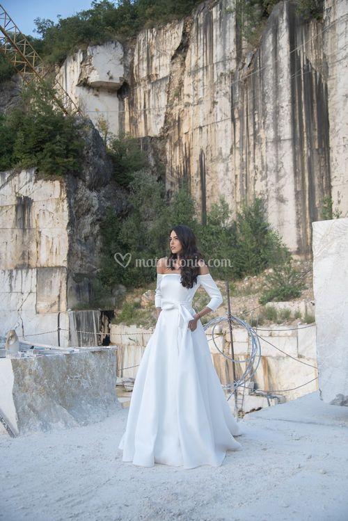 Luciana body + Luciana gonna, Galvan Sposa