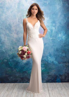 9554, Allure Bridals