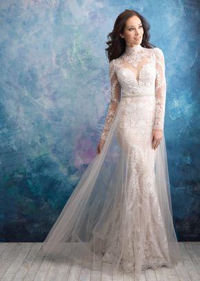 9567 , Allure Bridals