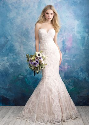9574 , Allure Bridals