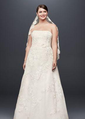 8001047 curvy, David's Bridal