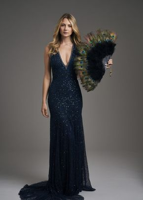 Gatsby in peacock, Eliza Jane Howell