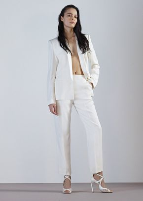 ANELISE TROUSERS-IVORY CREPE, 410