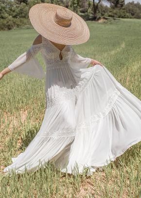 Alessia con falda, Novia d'Art