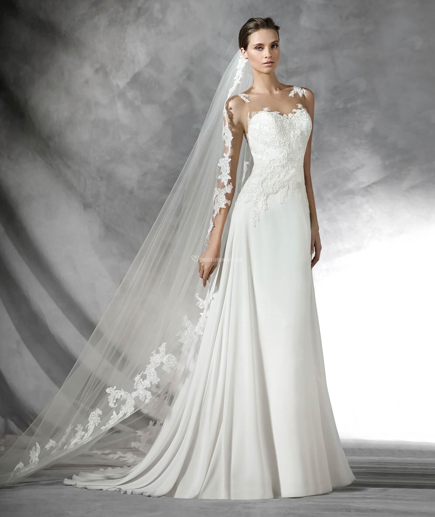 8555b81bf00b Abiti da Sposa di Pronovias - 2017 - Matrimonio.com