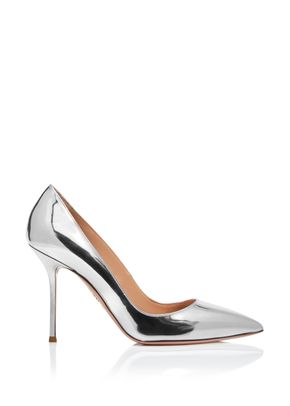 Purist Pump 95 silver mirrored, Aquazzura