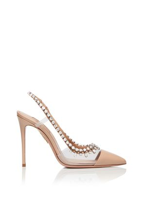 Temptation Crystal Pump 105, Aquazzura