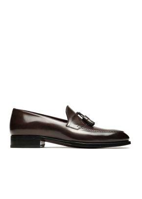 Brown Tassel Loafers, Brioni