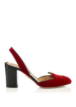 KITTY SLING BACK R, Charlotte Olympia