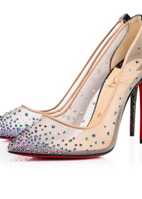 Follies Strass Rete Scarabee Broken, Christian Louboutin
