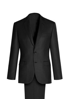 BLACK MADISON SUIT, Brioni
