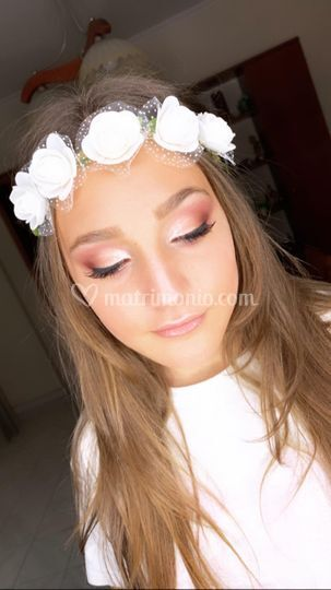 Make-up sposa glamour