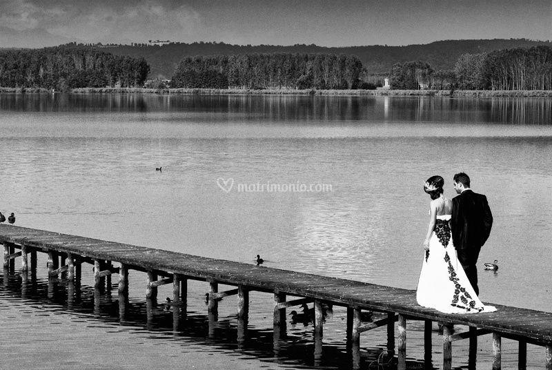 Sposi al lago di viverone