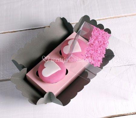 Scatolina per due cupcakes