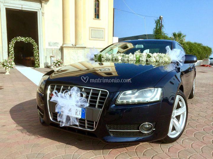 Audi a5 blu