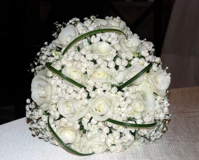 White chic bouquet